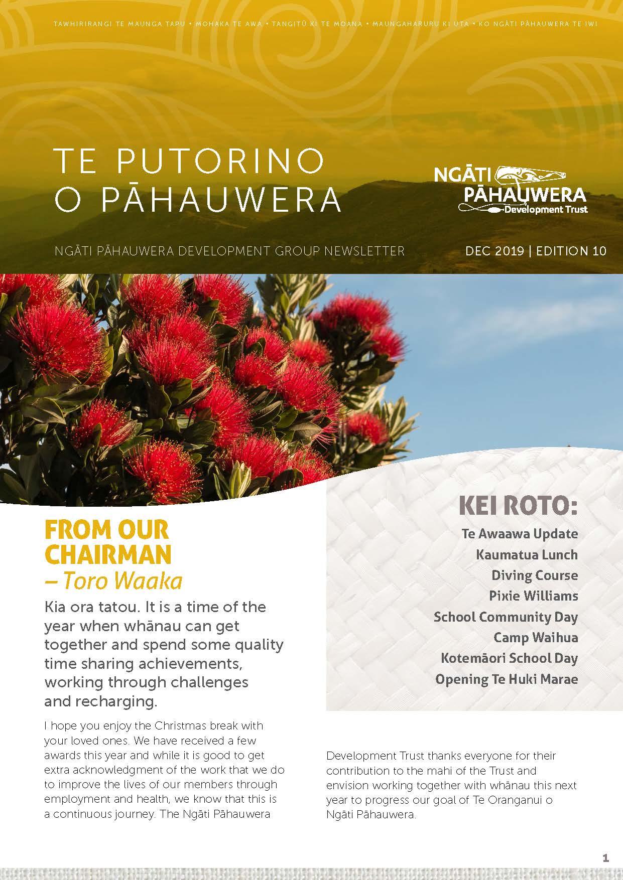 Te Putorino o Pāhauwera Edition 10