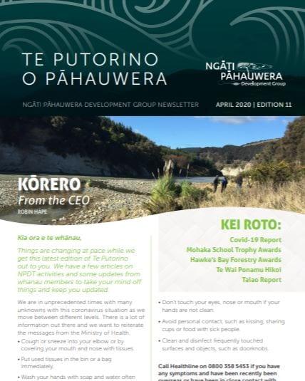 Te Putorino o Pāhauwera Edition 11